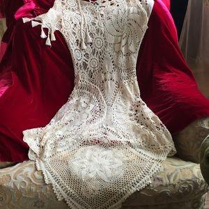 Jean Paul Gaultier lace dress